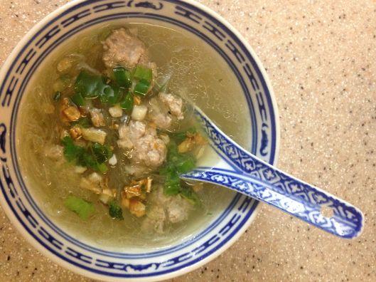 THAI BLOG meatball soup 10