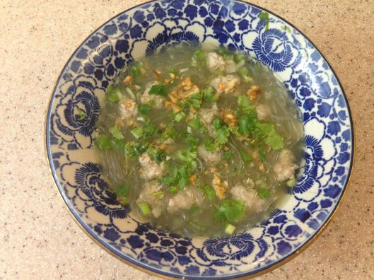 THAI BLOG meatball soup